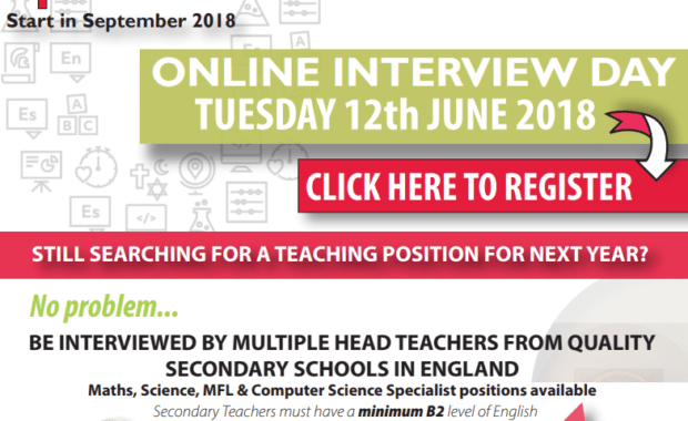 Secondary Online Interview Day