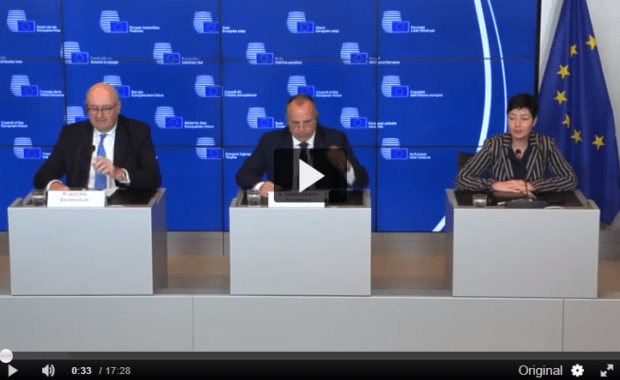 Agriculture and Fisheries Council Press conference