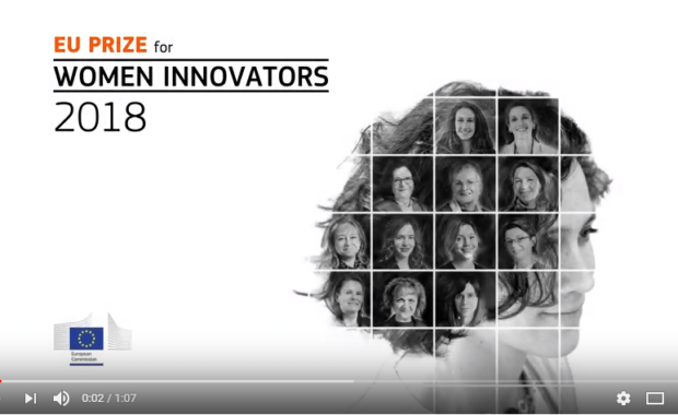 Finalists of the EU Prize for Women Innovators 2018