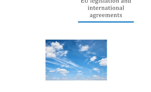 Air quality Pollution sources and impacts, EU legislation and international agreements : Study