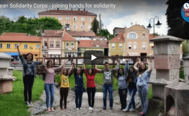 European Solidarity Corps: joining hands for solidarity