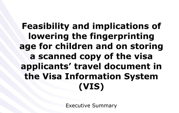 Legal analysis on the necessity and proportionality of extending the scope of the Visa Information System (VIS)