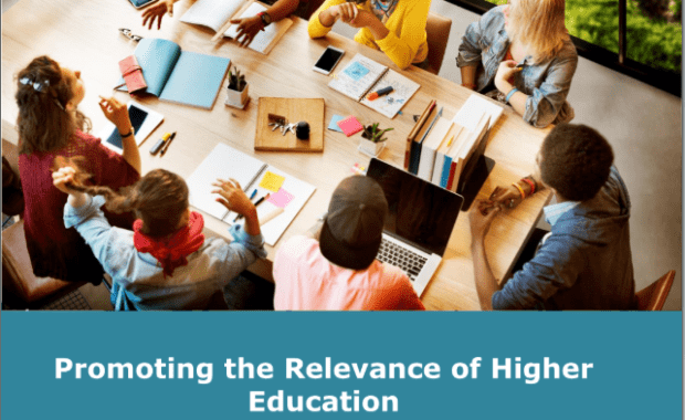 Promoting the relevance of higher education