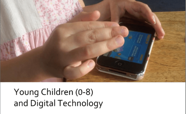Young children (0-8) and digital technology