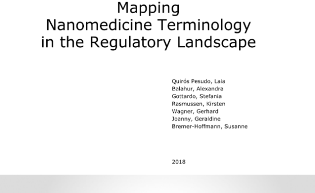 Mapping nanomedicine terminology in the regulatory landscape
