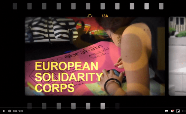 First anniversary of the European Solidarity Corps