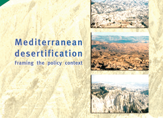 Mediterranean desertification. Framing the policy context : research results