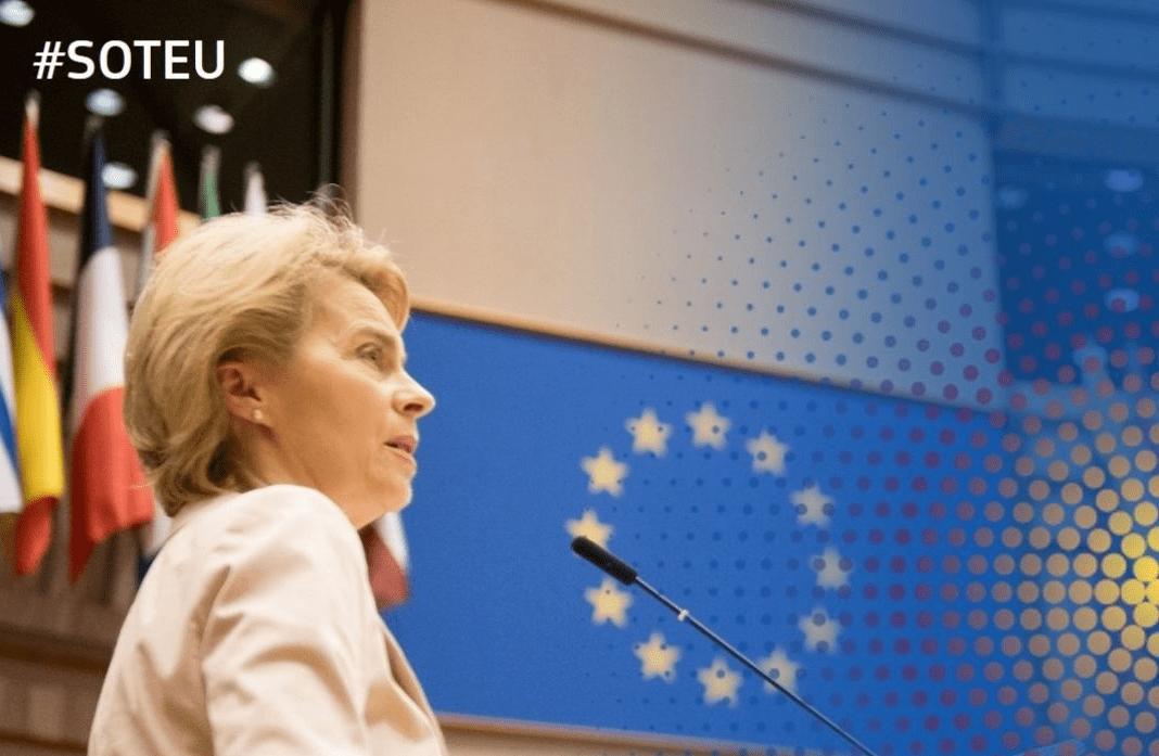 SOTEU Ursula Von der Leyen Europa