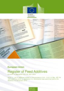 Register-feed-additives
