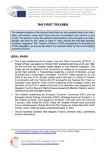First treaties of the EU