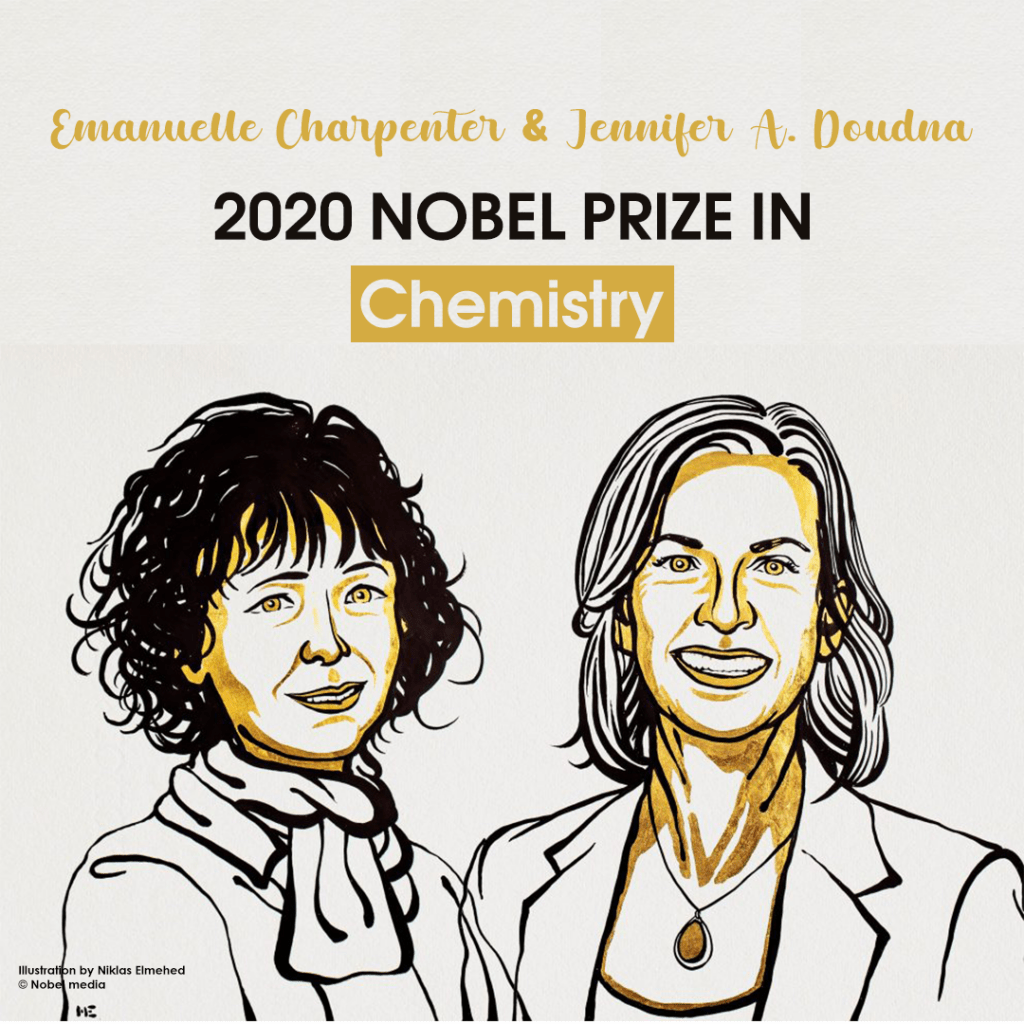 Chemistry Nobel , Emmanuelle Charpentier , Jennifer Doudna