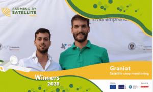 Un equipo español gana el premio de Agricultura 2020 llevado a cabo Satellite