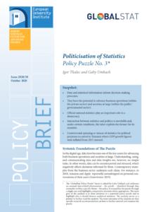 Politicisation of statistics